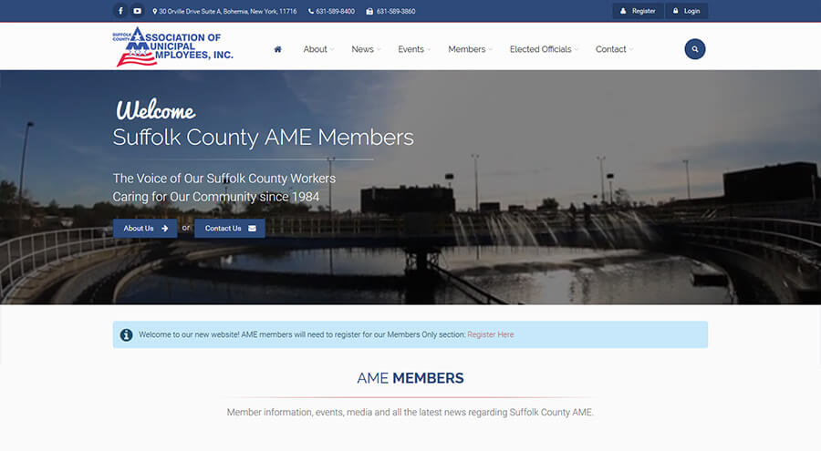 AME Union Home Page