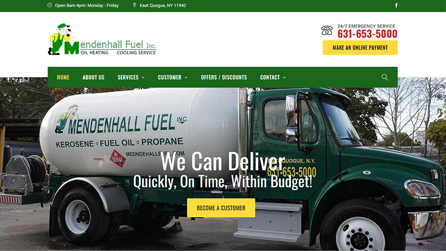 Mendenhall Website