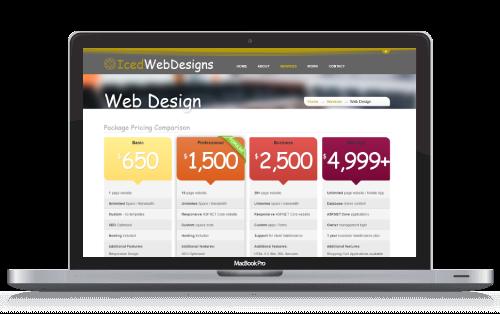 Long Island Web Design Long Island Affordable Website Design Iced Web Designs